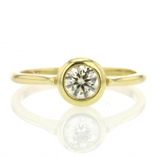 Round Brilliant Solitaire Diamond Ring Image