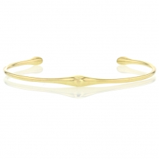 Swell 18k Gold Cuff Image