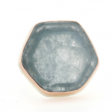 Aquamarine Slice Ring Image