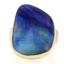 Boulder Opal Statement Ring Image