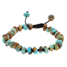 Arizona Turquoise 8mm Smooth Bracelet Image