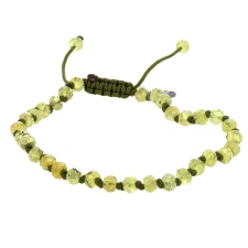 Peridot 6mm Faceted Bracelet