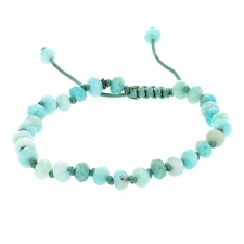 Amazonite 6mm Faceted Bracelet Image