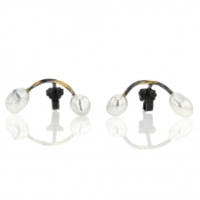 Keshi Pearl Seafire Earrings