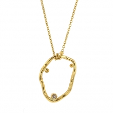 Cloud 18k Gold Necklace Image