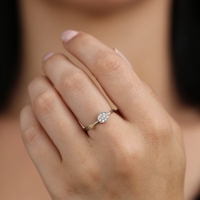 White Gold Pave Diamond Ring Image
