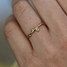 Seafire Gold Diamond Ring 3 Image