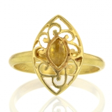Filigree Marquise Diamond Ring Image