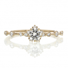 Diamond Snowflake Ring Image