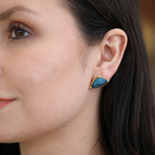 Galaxy Opal Stud Earrings Image