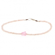 Pink Moonstone and Pink Spinel Bracelet Image