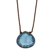 London Blue Topaz Zen Gems Necklace Image