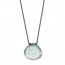 Moss Aquamarine Zen Gems Necklace Image