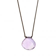 Faceted Amethyst Zen Gems Necklace Image
