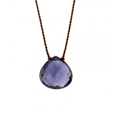 Faceted Iolite Zen Gems Necklace Image