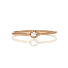 Rose Gold Small Diamond Ring Image