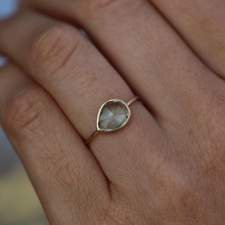 Pear Tourmaline Gold Ring Image