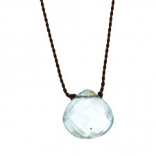 Faceted Aquamarine Zen Gems Necklace Image