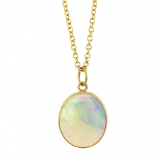 Australian Opal Pendant (Chain Sold Separately) Image