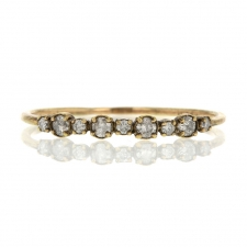 Gold 9 Diamond Band Image