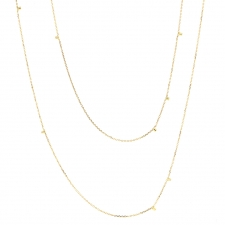 Long Gold Dust Necklace Image