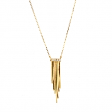 Fringe 18k Gold Necklace