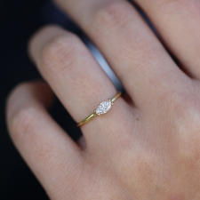 Marquis Diamond Solitaire Ring Image