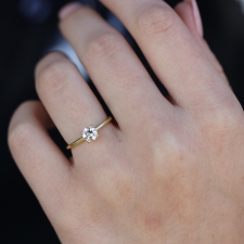 Recycled Diamond Solitaire Image