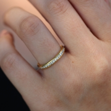 Diamond Gold Eternity Band Image