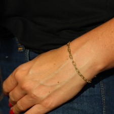 Heavy Weight 18k Chain Bracelet Image