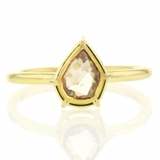Cognac Canadian Diamond Solitaire Image