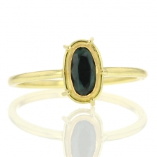 Blue Spinel Ring Image