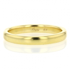 Gold Rounded Minimal Band Image