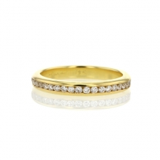 Diamond Gold Eternity Band