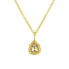 Petite Rose Cut Diamond Necklace Image