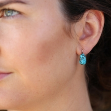 Vintage Turquoise Earrings Image