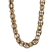 Unique Vintage 10k Gold Chain