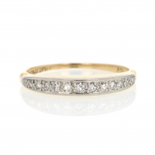 Gold and Platinum Vintage Wedding Band Image