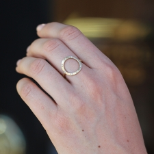 Circle 8 Diamond Ring Image