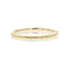 Thin Gold Etched Band Image