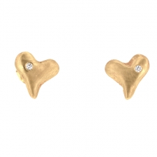 Sweetheart Gold Studs Image