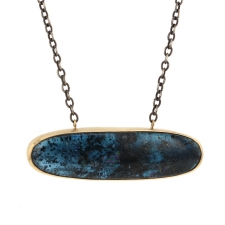 Blue Green Kyanite Necklace Image