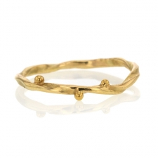 Seafire Gold Ring