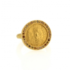 Gold Byzantine Ring Image