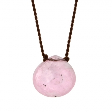 Pink Tourmaline Zen Gems Necklace Image