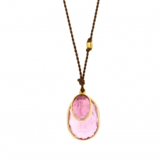 Double Pink Tourmaline Necklace Image