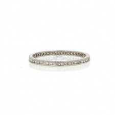 Platinum Diamond Eternity Band Image