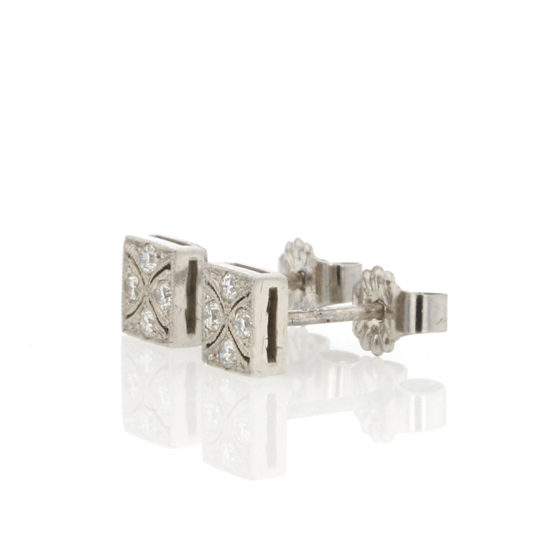 Platinum Diamond Studs