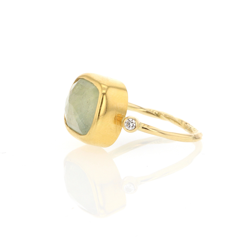 Sapphire 22k Gold Ring