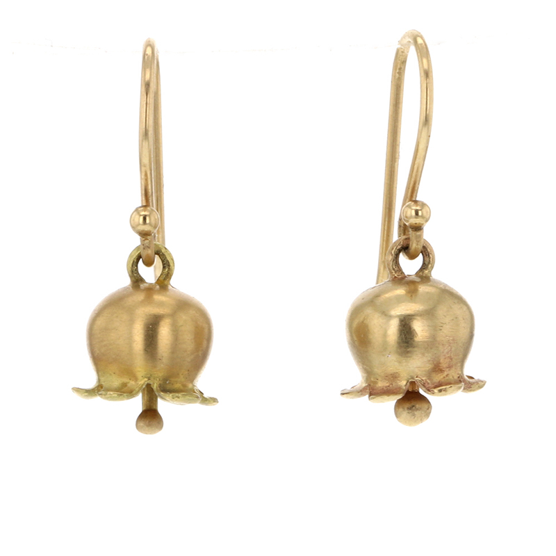 Lily of the Valley 18k Gold Earrings